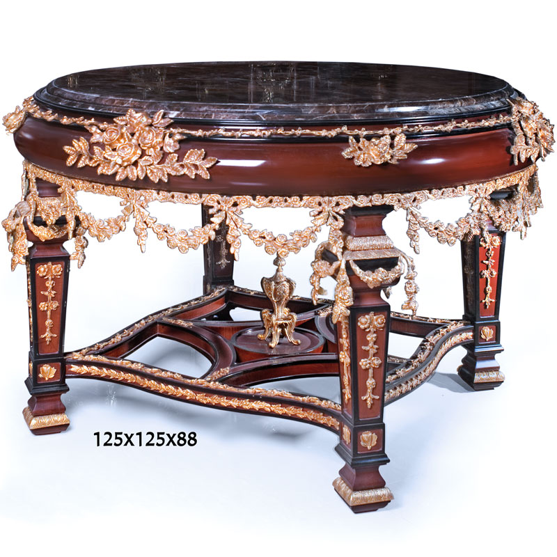 table ronde en acajou style napoleon empire plateau marbre bronze ebay. Black Bedroom Furniture Sets. Home Design Ideas