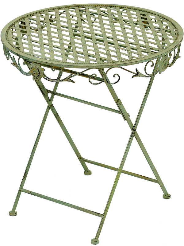 Estimated and based on max bid to be provided at checkout for Petite table de jardin vert anis